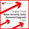 Firebox T10-W Basic Security Suite Renewal/Upgrade 1 year