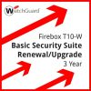 Firebox T10-W Basic Security Suite Renewal/Upgrade 3 year