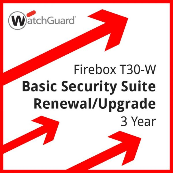 Firebox T30-W Basic Security Suite Renewal/Upgrade 3 year