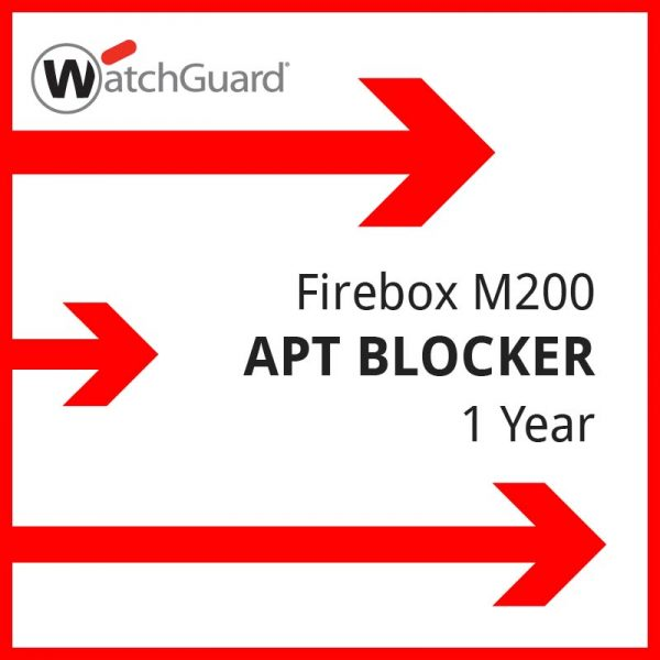 Firebox M200 APT Blocker 1 year